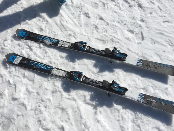 スキー VOLKL 17-18 PLATINUM SW SPEEDWALL 166cm