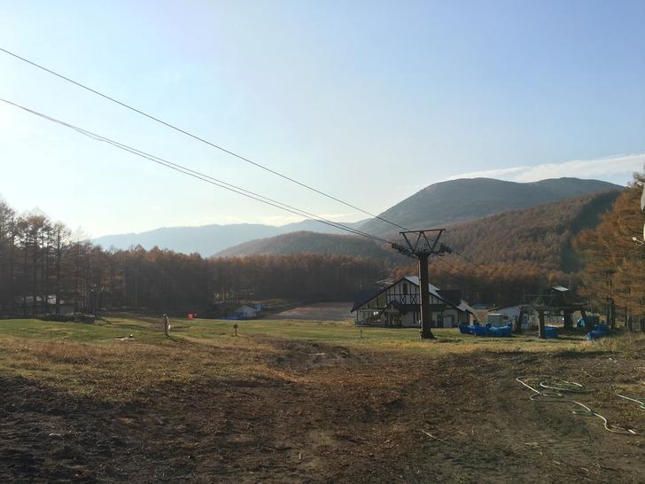湯の丸スキー場第二ゲレンデ