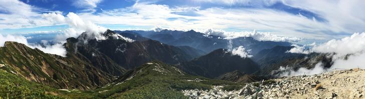 唐松岳 山頂
