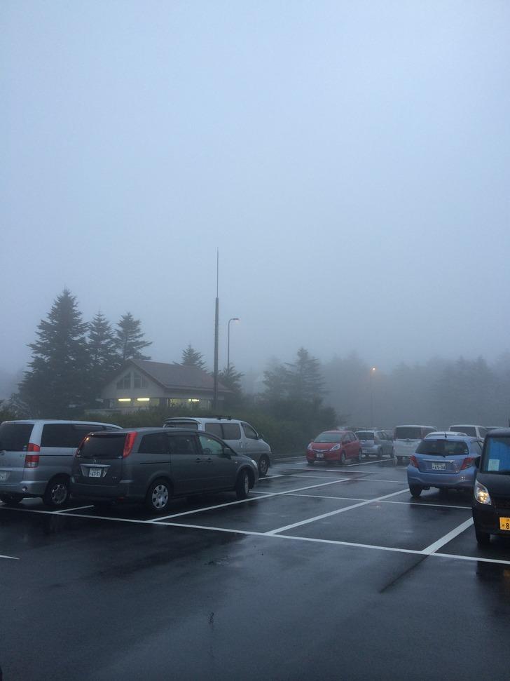 富士山 水ヶ塚駐車場