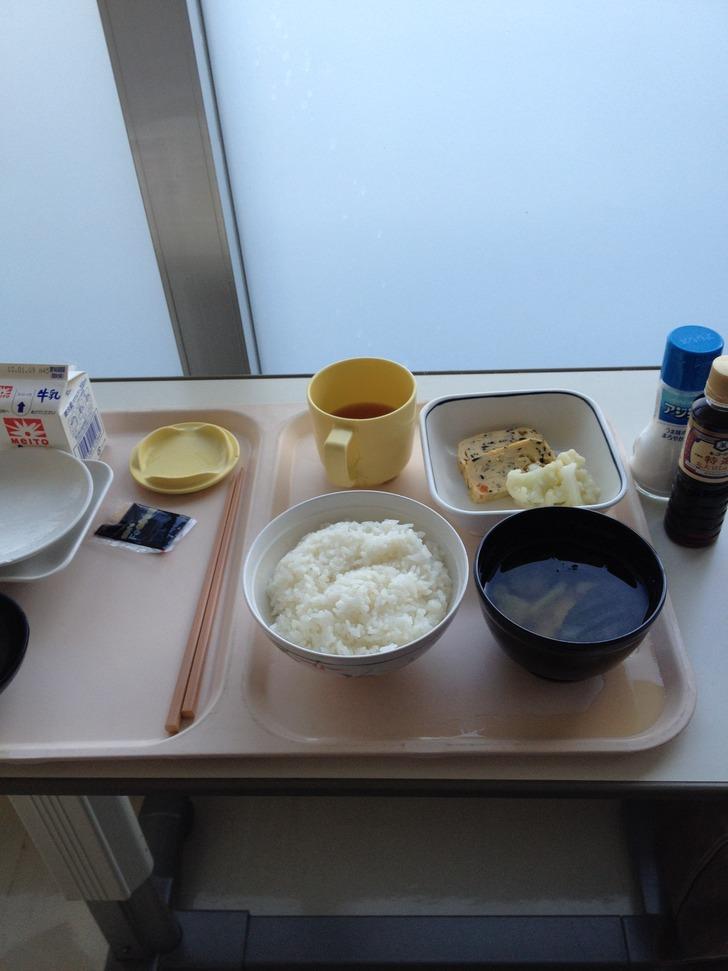 病院食と塩と醤油