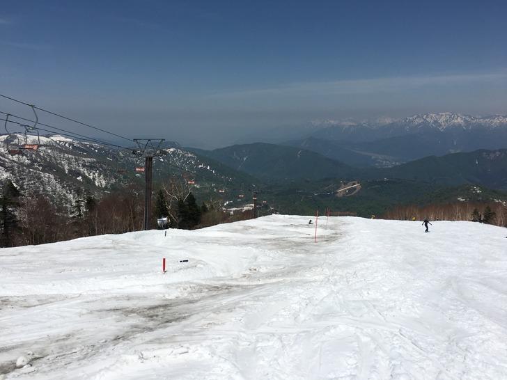 かぐらスキー場 バンクドスラローム