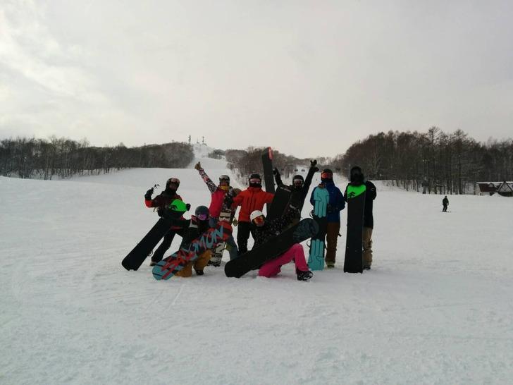 ルスツ 雪山田 kyompi スノーボード