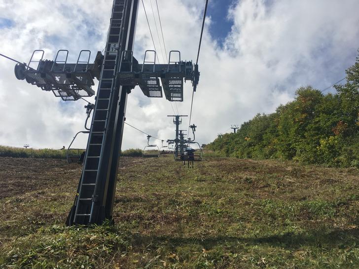 八方尾根スキー場 アルペンクワッド