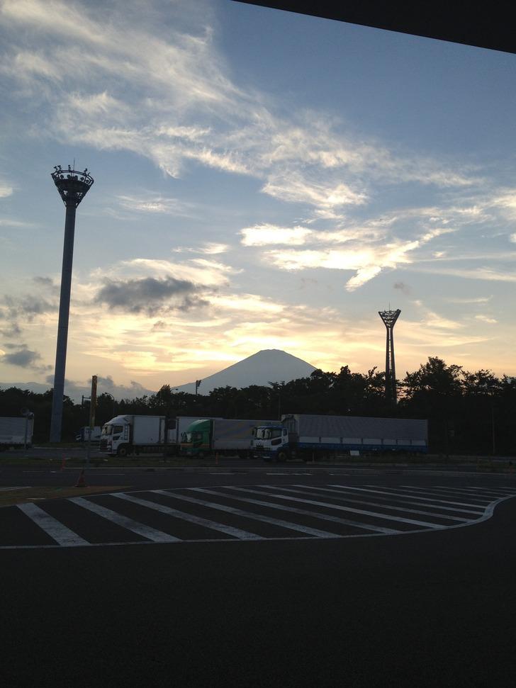 SAからの富士山