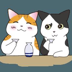 LINEスタンプ 馬ニャン☆オールスターズ 第2弾