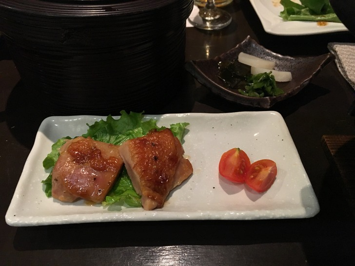 湯心亭 柚子塩チキンステーキ