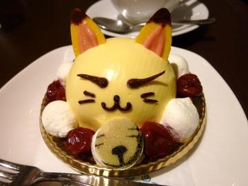 コックリさんケーキ