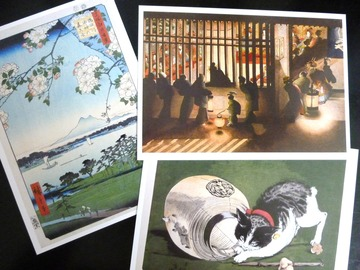 浮世絵ポストカード