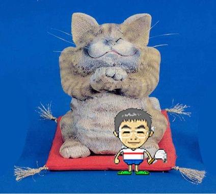 ネコとおっちゃんのコピー