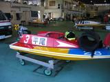 平尾選手ボート