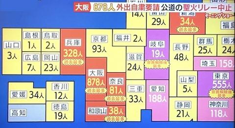 関西感染 エピセンター0407