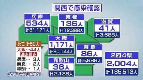 関西地方 0429
