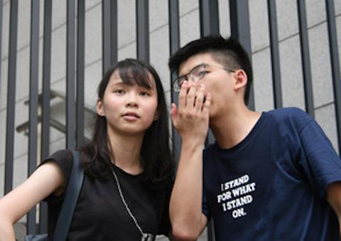 """0香港""""民主の女神"""""""