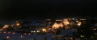 かやぶきの里雪灯廊