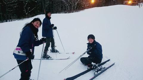 024 スキー練習中