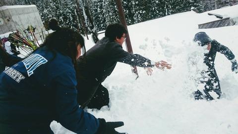 016 雪遊び