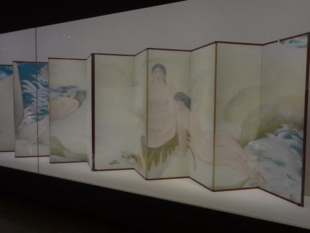 170628川端龍子「真珠」山種美術館蔵