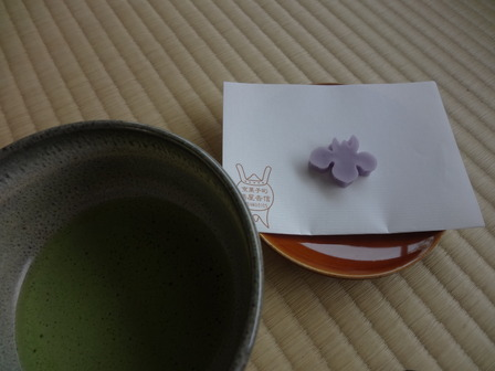 170515城南宮の茶菓子