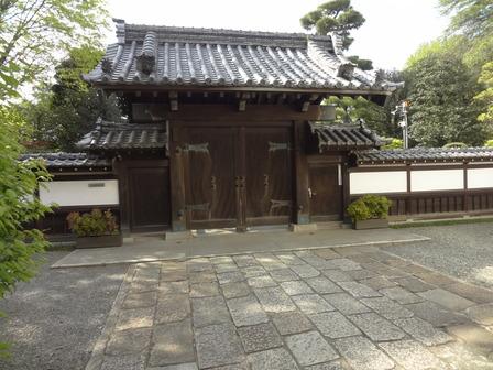 180412齋田家の門構え