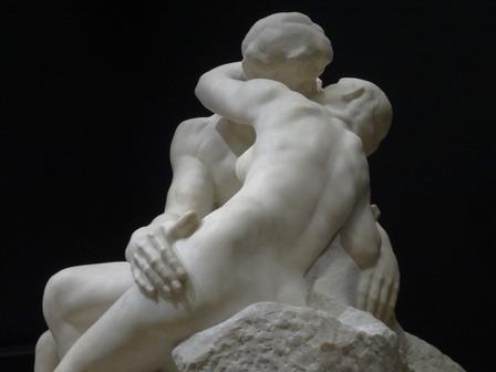 180411ロダンの接吻