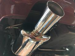 S14 シルビア フジツボマフラー
