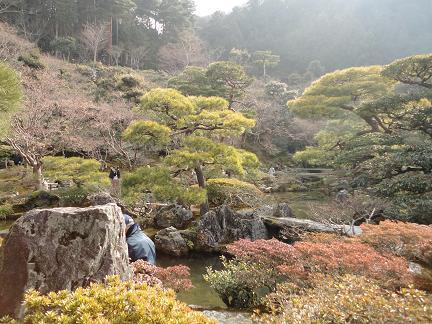 銀閣寺20110212