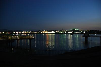 狭山池夜景