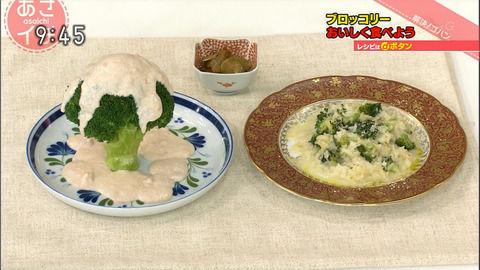 NHK「あさイチ」平野レミさんの「まるごとブロッコリーの ...