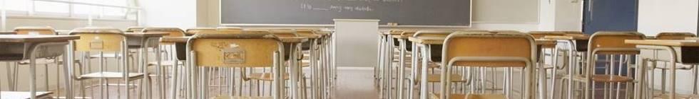 私立学校の教壇