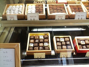 チョコレートの数々・・・