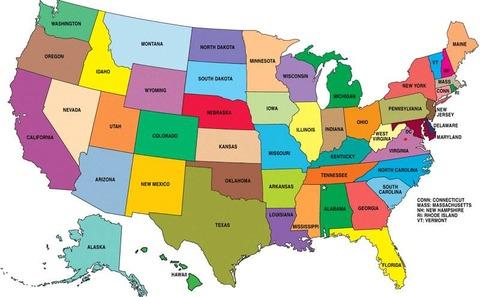 USA-Bundesstaaten