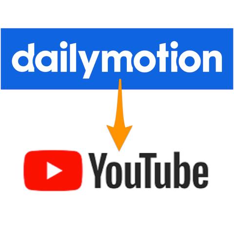動画のアップロードをDailymotionやめて、再びYouTubeへ…