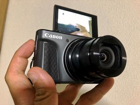 Canonのコンデジ「SX730 HS」で撮影した木星・土星そして月