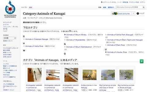 春日井市内で撮影した生き物の写真をまとめた「Animal of Kasugai」