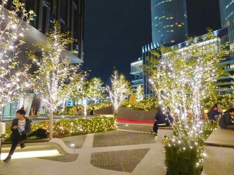 大名古屋ビルヂング5階「スカイガーデン」のクリスマスイルミネーションがお薦め♪(追記あり)