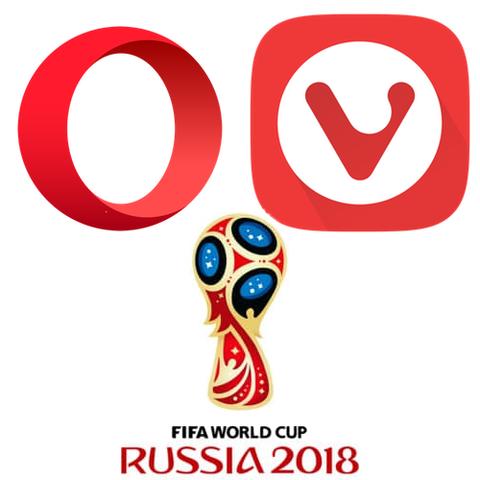 OperaとVivaldiでサッカーW杯を楽しむ方法
