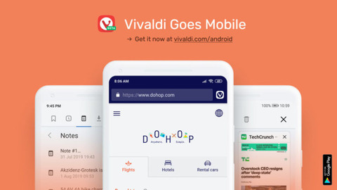 iOS版Vivaldiは計画あるものの、リリースはもう少し?先(追記あり)