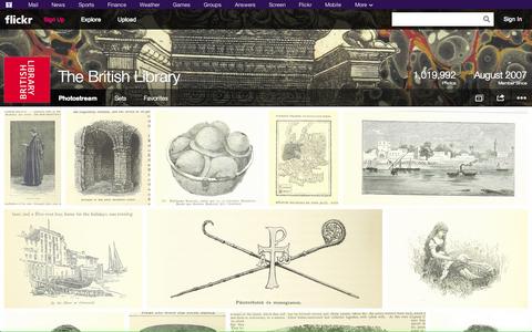 """大英図書館がFlickrに、誰でも利用できる写真や画像を""""100万点""""以上公開!"""