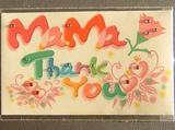 メッセージカード<母の日>