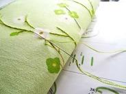 長財布に刺繍 (2)
