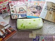 長財布に刺繍 (1)