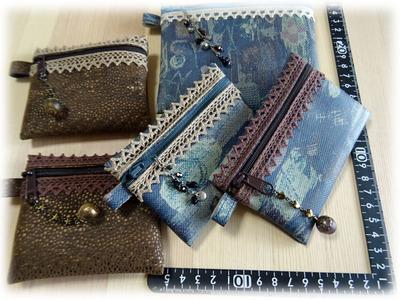 ファスナーミニ財布 (2)