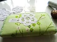 長財布に刺繍 (4)
