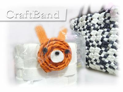 CraftBandで小物作り