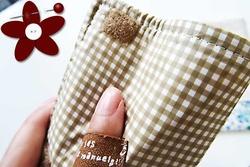 防水布製スマホカバー (1)