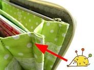 長財布に刺繍 (6)