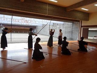 ●体配稽古2(世田谷区総合運動場弓道場)