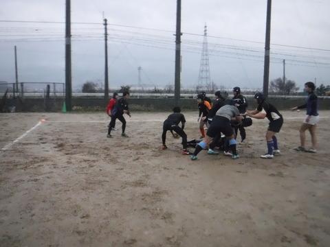 2月15日(金)一年生練習