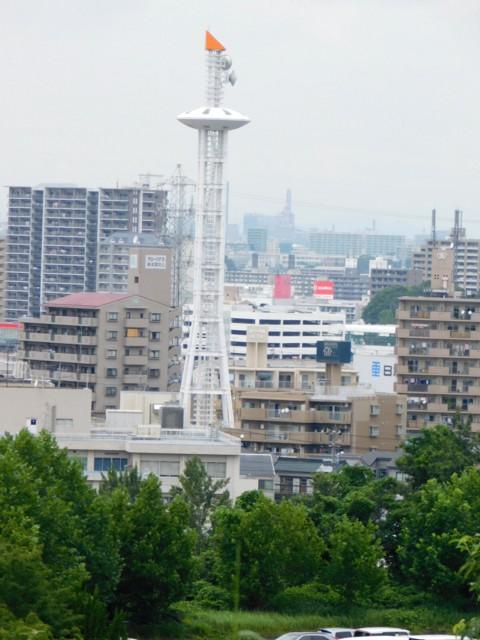 緑区役所の電波塔